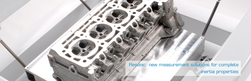 Resonic: new measurement solutions for complete inertia properties